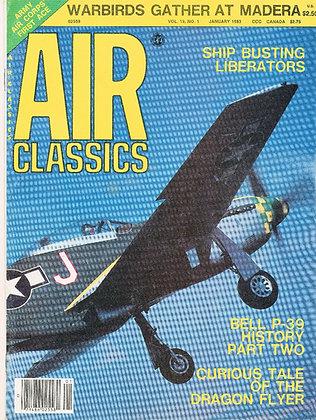 Air Classics (Jan. 1983) Vol. 19, No. 1 - Warbirds