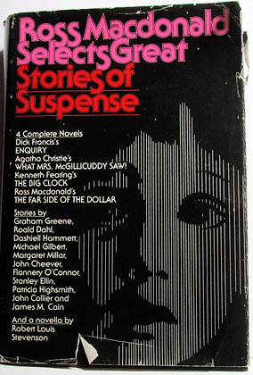 Great Stories of Suspense by Ross Macdonald 1974