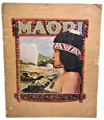 The Maori by New Zealand Government 1928