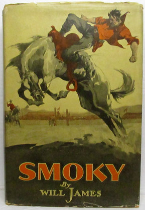 SMOKY the Cowhorse by Will James 1926 (Western) w/Jacket!