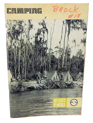 Camping Boy Scouts 1973