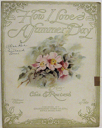 How I Love A Summer Day 1915