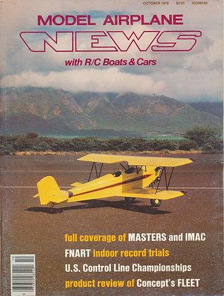 Model Airplane News October 1979