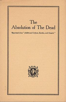 Absolution of The Dead St. John Evangelist