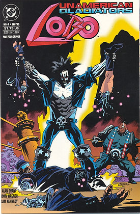 Lobo: Unamerican Gladiators, #4