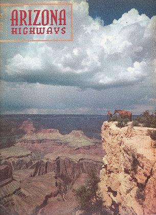 ARIZONA HIGHWAYS (March 1954) Magazine GRAND CANYON