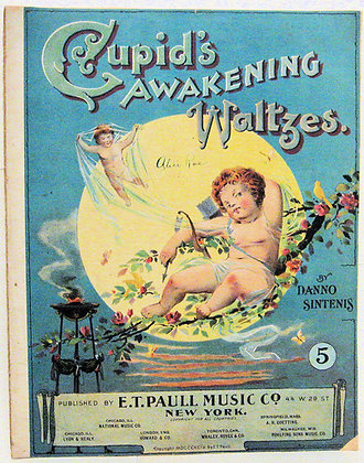 CUPID'S AWAKENING WALTZES Danno Sintenis 1899