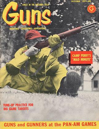 Guns, October 1959