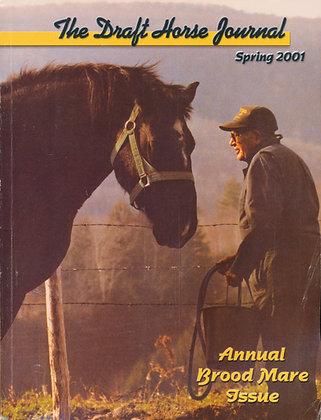 Draft Horse Journal Spring 2001