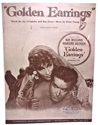 Golden Earrings Ray Milland 1946