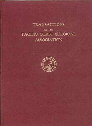 Pacific Coast Surgical 1965