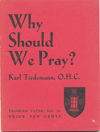 Why Should We Pray #29