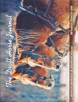 Draft Horse Journal Winter 2005-06