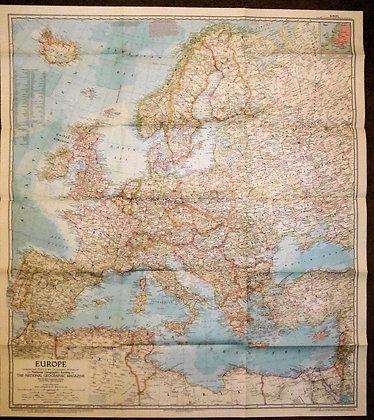 Nat. Geographic Europe 1957