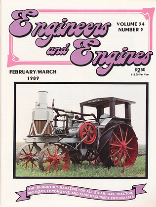 Engineers & Engines, Feb.-March 1989
