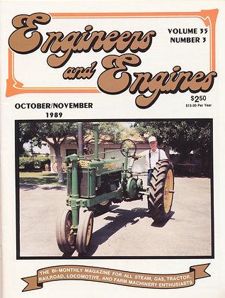 Engineers & Engines, Oct.-Nov. 1989