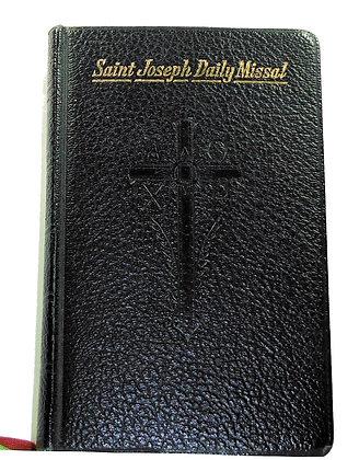 SAINT JOSEPH DAILY MISSAL Rev. Hoever 1957 (Catholic)