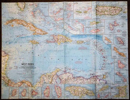 Nat. Geographic West Indies 1962