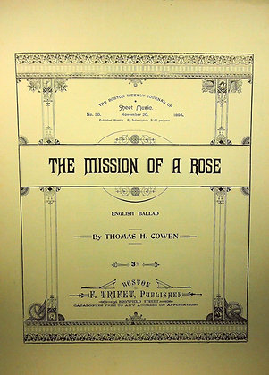 The Mission of a Rose 1895