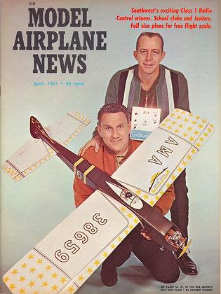 "Model Airplane News (April 1967) ""Oily Birds"""