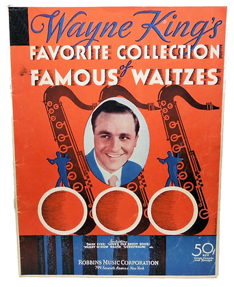 Wayne King's Favorite Waltzes 1932