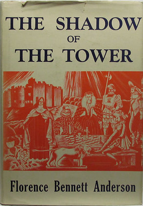 Shadow of the Tower by Floren Bennett Anderson 1955 (signed)