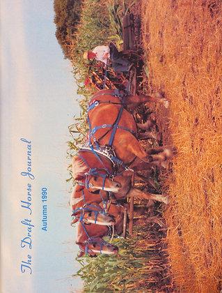 Draft Horse Journal Autumn 1990