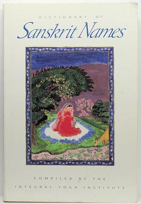 DICTIONARY of Sanskrit Names (Indian)