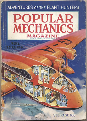 POPULAR MECHANICS August 1936