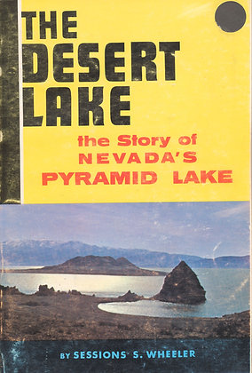 Desert Lake the Nevada's Pyramid Lake 1968