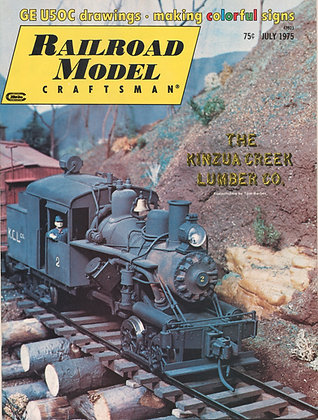 Railroad Model Craftsman, July 1975