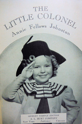 The Little Colonel by Johnston (Shirley Temple) 1922