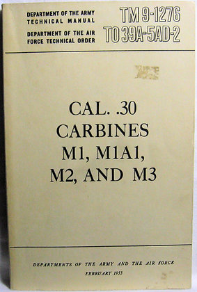 TM 9-1276 TO 39A-5AD-2 1953 Army Manual