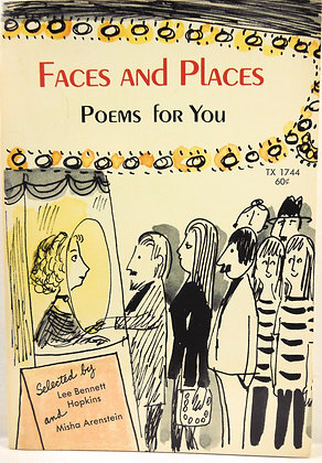 Faces & Places Poems for You 1971