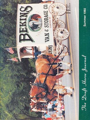 Draft Horse Journal Summer 1992