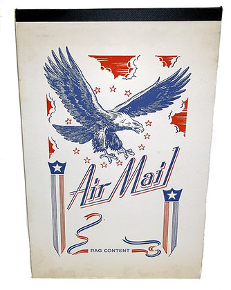 Navy Air Mail Personalized Stationery