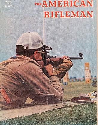 American Rifleman August 1970