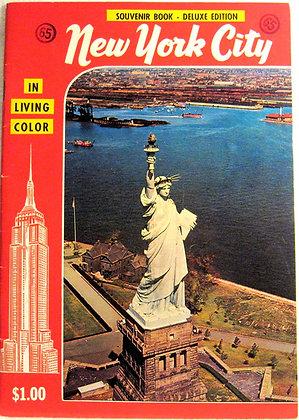 New York City In Living Color Souvenir 1958