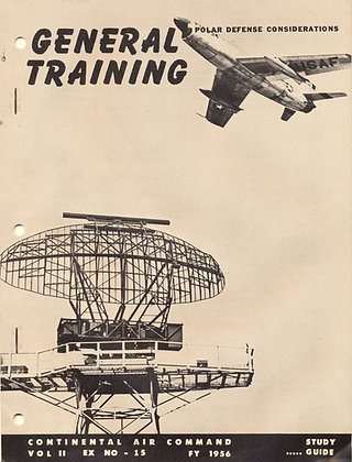 Training Continental Air Command 1956 #15