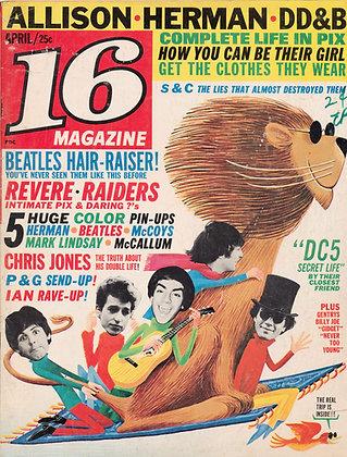 16 Magazine (April 1966)