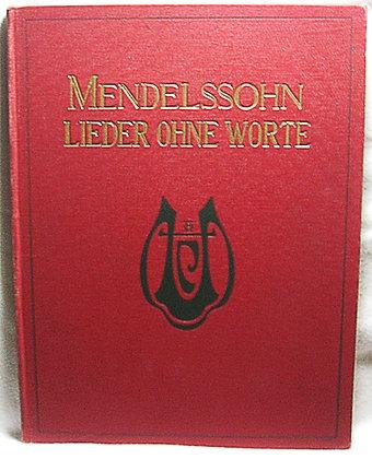 Mendelssohn Bartholdy's Sammtliche (German) ca. 1870