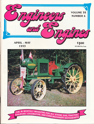 Engineers & Engines, April-May 1993