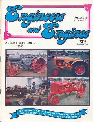 Engineers & Engines, Aug.-Sept. 1986