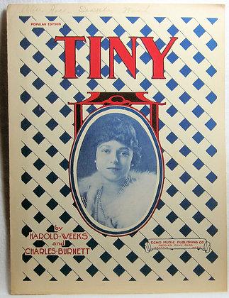 TINY by Harold Weeks 1919