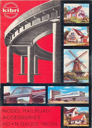 Kibri Model Railroad Accessories 1967/68