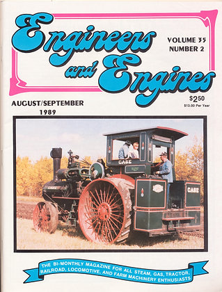 Engineers & Engines, Aug.-Sept. 1989