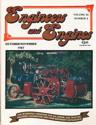 Engineers & Engines, Oct.-Nov. 1987