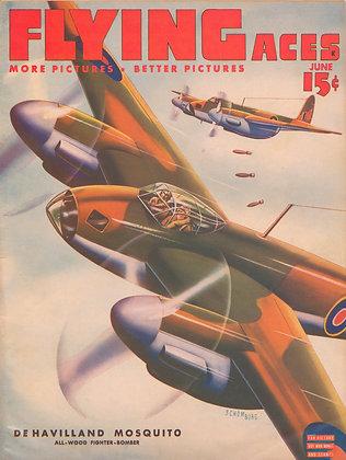 Flying Aces (June 1943) Vol. 44, No. 3