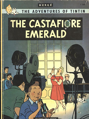 The Adventures of Tintin:THE CASTAFIORE EMERALD by Herge 1975