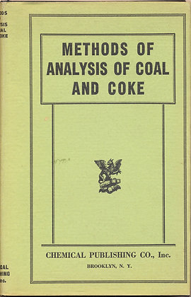Coal & Coke Research 1941